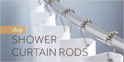 Shop Shower Curtain Rods