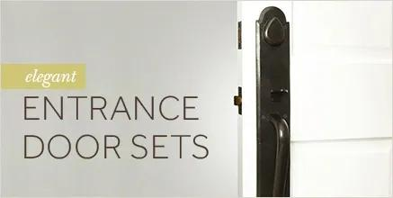 Elegant Entrance Door Sets