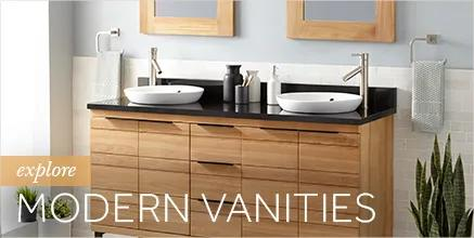 Striking Modern Vanities