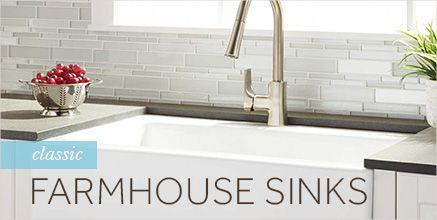 Classic Farmhouse Sinks