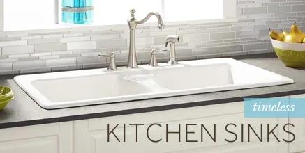 Timeless Kitchen Sinks